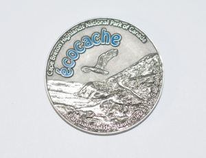 CBHNP Geocaching Coin - Back side